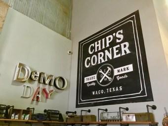 Chip's Corner inside Magnolia Market