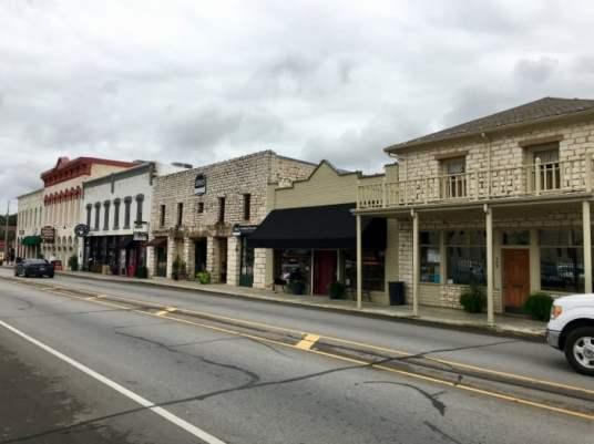 downtown Granbury, Texas