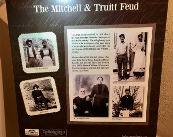 Mitchell Truitt feud exhibit