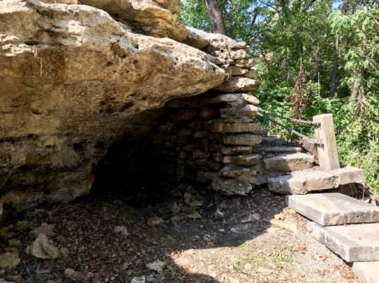 Hermit's Cave Council Grove, Kansas