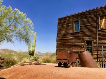 Old West ghost town