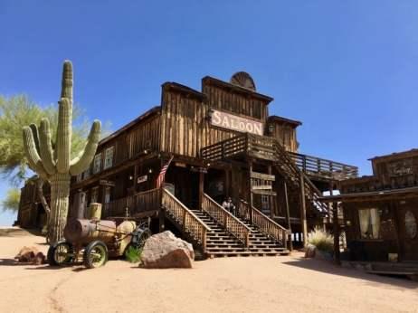 saloon at Goldfield Ghost Town Arizona