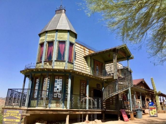 bordello at Goldfield Ghost Town Arizona