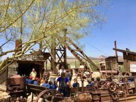 mine at Goldfield Ghost Town Arizona