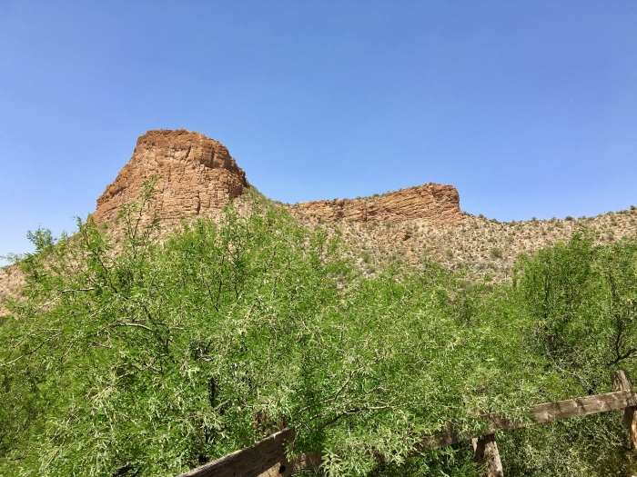 mountains above Tortilla Flat, Arizona