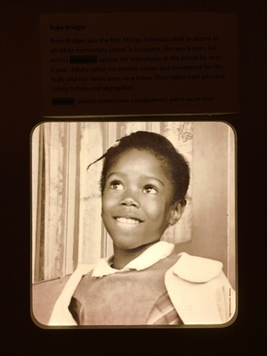 Brown Board Education NPS Site Topeka Ruby Bridges