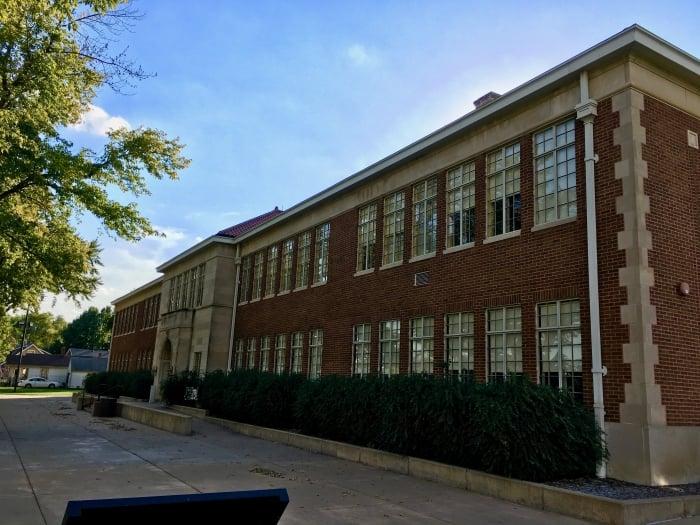 Brown Board Education NPS Site Topeka school
