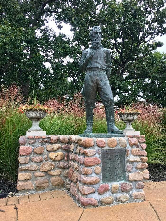 John Brown Museum Kansas statue