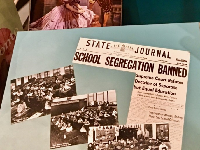 Kansas Museum of History segregation newspaper