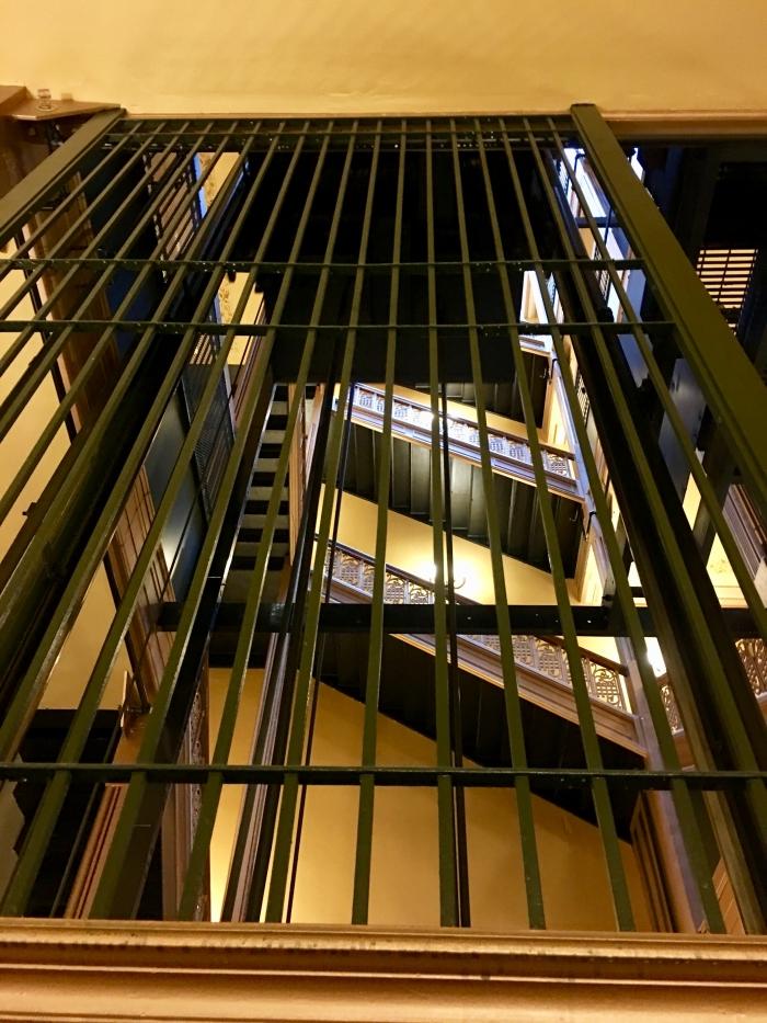 Kansas State Capitol elevator