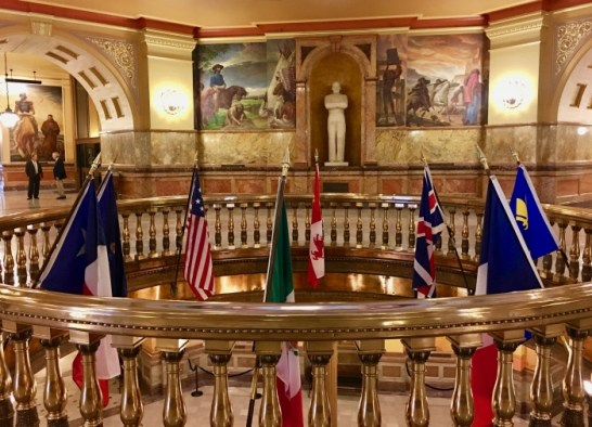 Kansas State Capitol rotunda - Explore Civil Rights History in Topeka, Kansas: 5+1 Key Sites