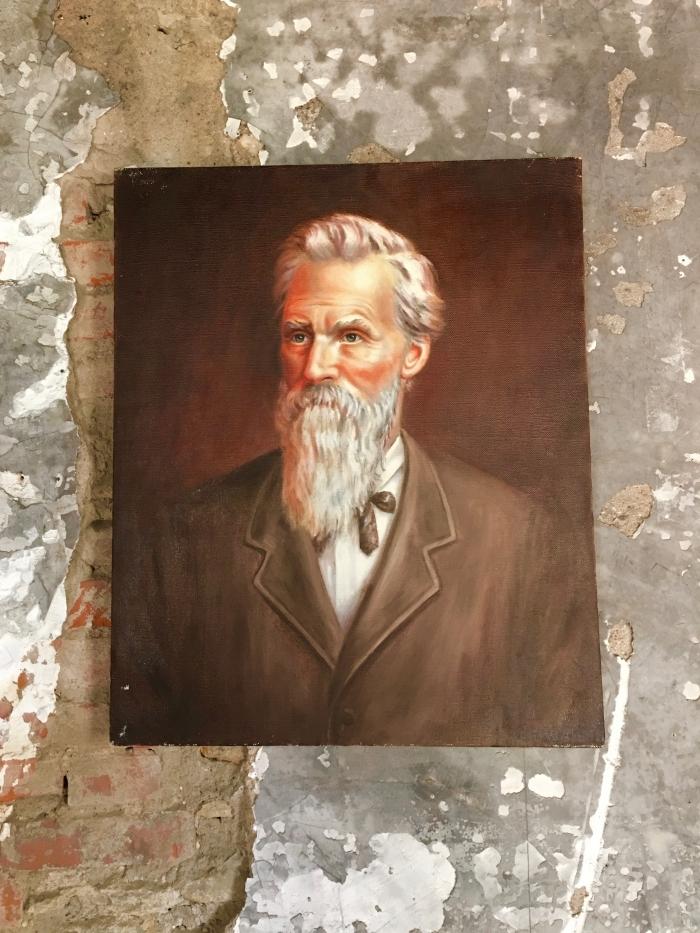 Ritchie House Topeka John painting