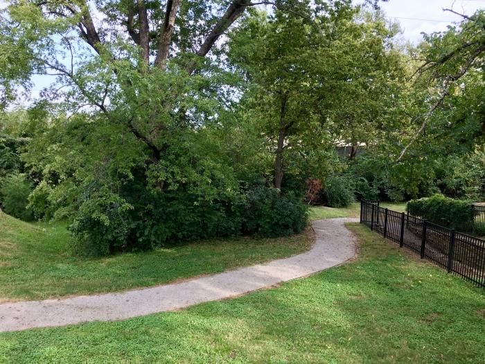 Ritchie House Topeka path