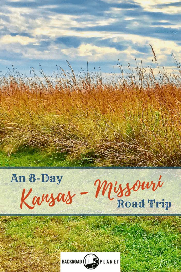 A Kansas - Missouri road trip route takes me to Wichita, Tallgrass Prairie, Council Grove, Topeka, Osawatomie, Kansas City, Independence, and other sites along the way. #TBIN #roadtrip