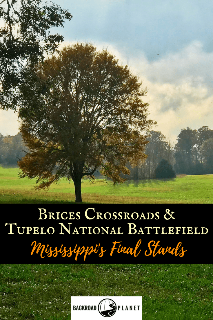 The Civil War comes alive when you tour the scenic heritage trails of Brices Crossroads and Tupelo National Battlefield, two National Park Service sites that commemorate Mississippi's Final Stands of 1864. #NPS #FindYourPark #TBIN #Travel #CivilWar #MyTupelo #Mississippi #VisitMS