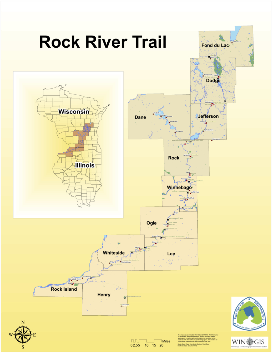 Explore The Rock River Trail Through Wisconsin Illinois Backroad