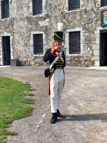 colonial French officer at Fort Niagara