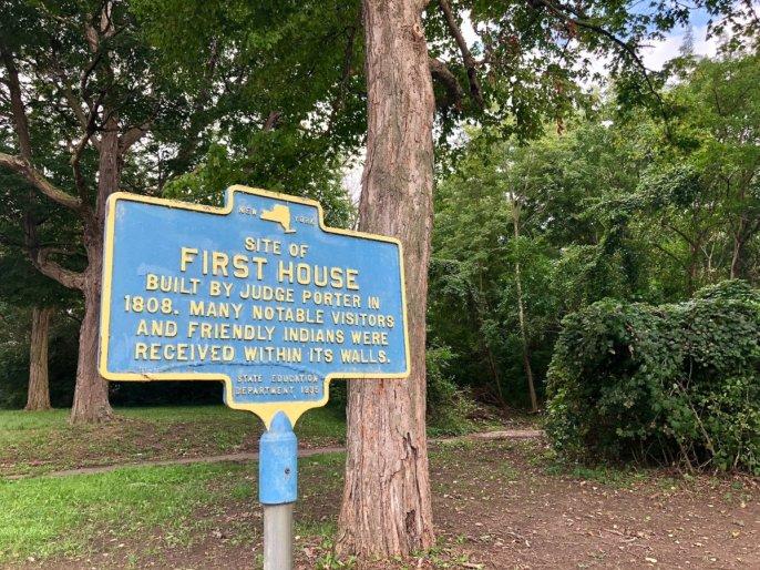 Niagara Falls historical marker