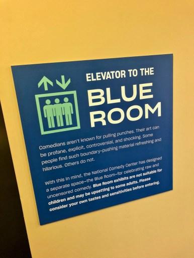 comedy center blue room