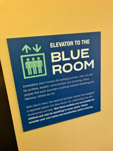 comedy center blue room