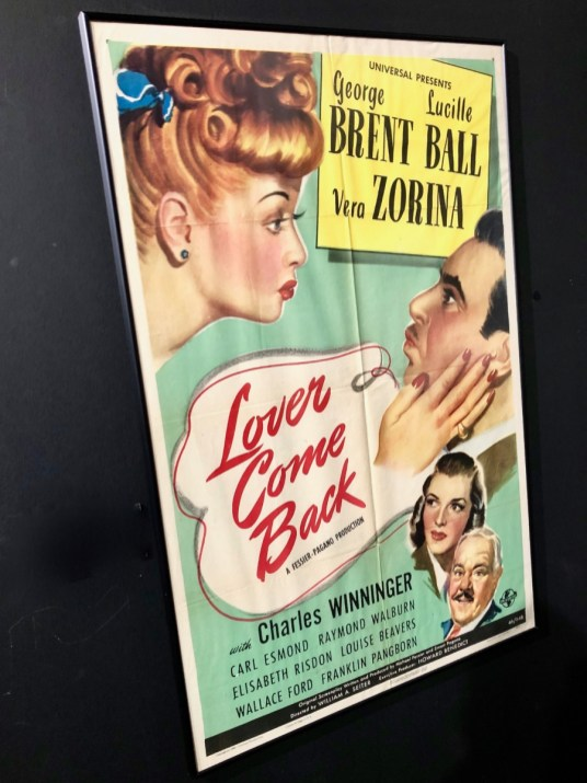 lover come back movie poster - Find Fun and Laughter in Upstate New York