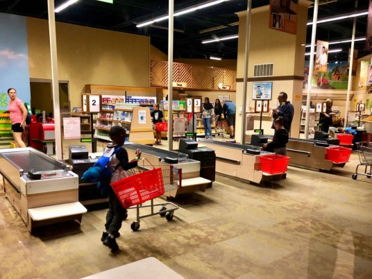 play grocery store
