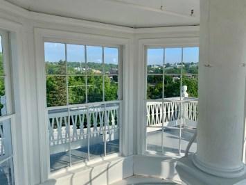 Blackburn Inn Cupola Windows