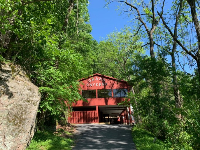 Grand Caverns Entrance - Fun Things to Do in Staunton Virginia