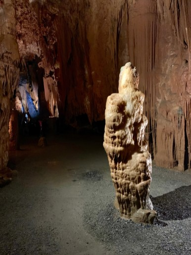 Grand Caverns George Washington Ghost - Fun Things to Do in Staunton Virginia