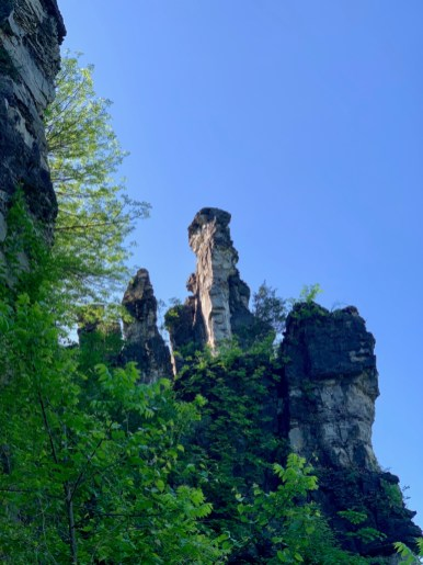Natural Chimney Against Sky - Fun Things to Do in Staunton Virginia