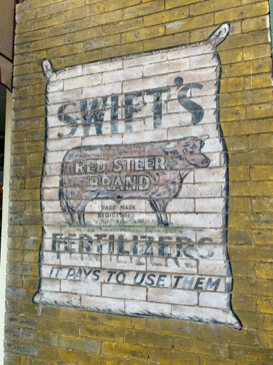 Swifts Fertilizer Sign