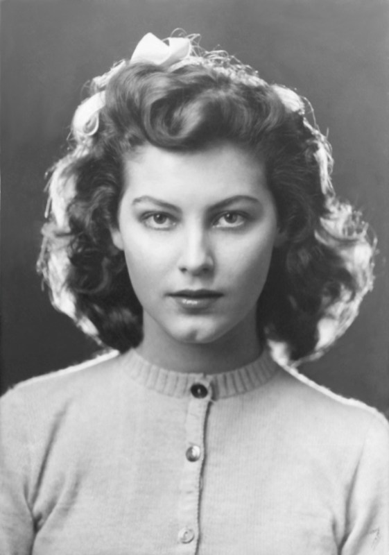 Ava Gardner High School Portrait