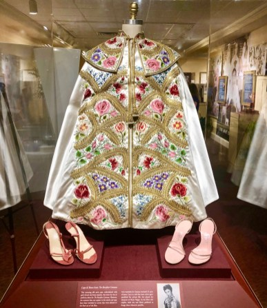 Ava Gardner Museum Barefoot Contessa cape and shoes