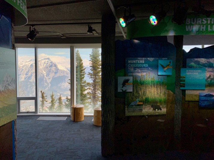 Banff Interpretive Center Exhibit