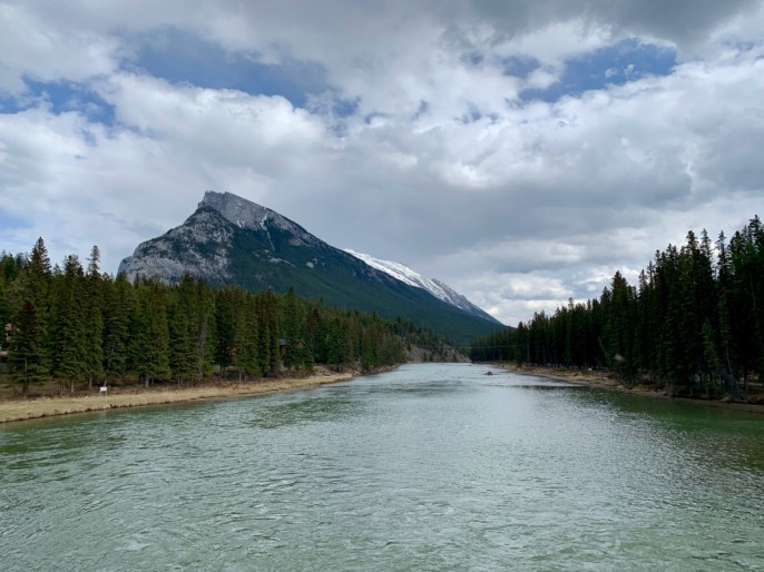 Bow River Mount Rundle Banff