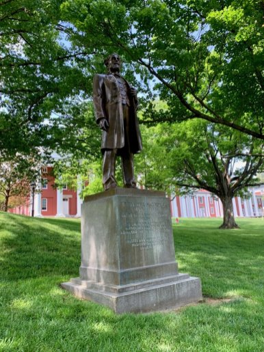 Cyrus McCormick Statue - Scenic & Historic Things to Do in Lexington, Virginia