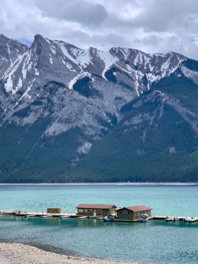 Banff Lake Minnewanka Dock