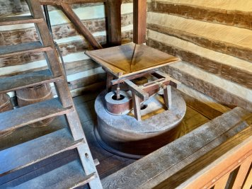 McCormick Farm Mill Hopper - Scenic & Historic Things to Do in Lexington, Virginia