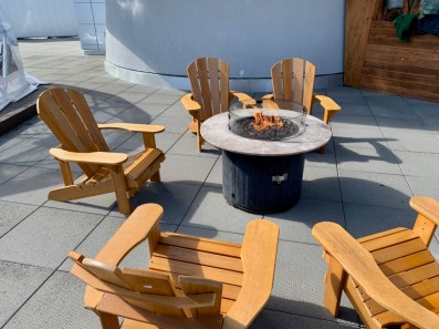 Observation Deck Fire Pit - The Best Sites & Activities for a Town of Banff Adventure