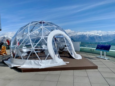 Observation Deck Igloo - The Best Sites & Activities for a Town of Banff Adventure