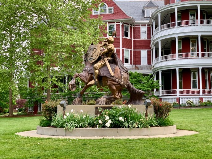 SVU Whole Armor of God Sculpture  - Scenic & Historic Things to Do in Lexington, Virginia
