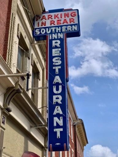 Southern Inn Restaurant Neon Sign