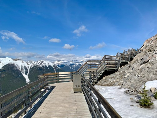 Sulphur Mountain Boardwalk Mountain View - The Best Sites & Activities for a Town of Banff Adventure