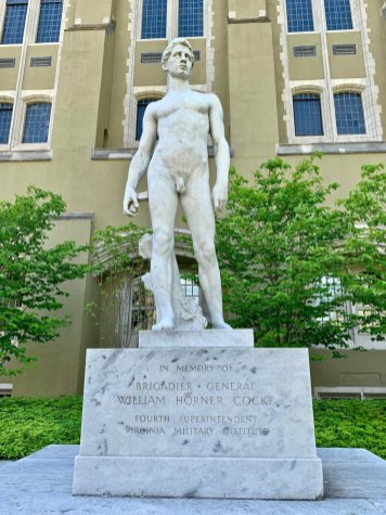 VMI Spirit of Youth Statue