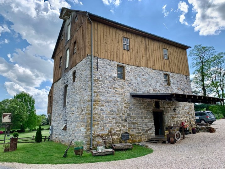 Wades Mill Entrance - Scenic & Historic Things to Do in Lexington, Virginia