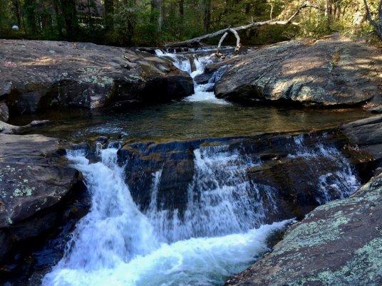 Above Dicks Creek Falls - North Georgia Swimming Holes & Waterfalls You Can Swim In