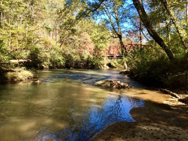Amicalola River near Devil's Elbow