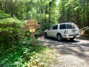 Hickey Gap Day Use Parking