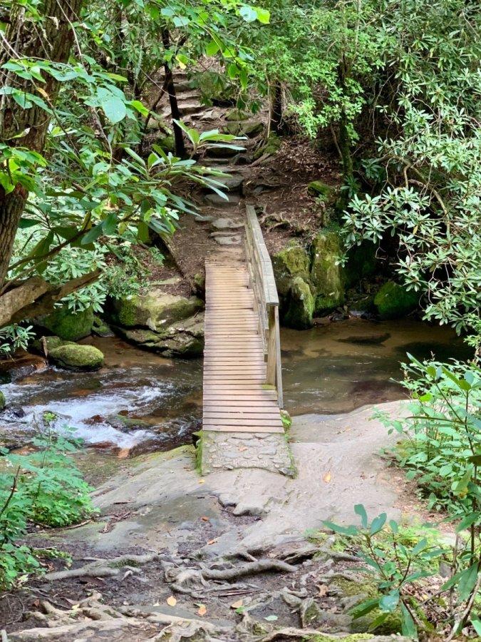 Moccasin Creek Footbridge - North Georgia Swimming Holes & Waterfalls You Can Swim In