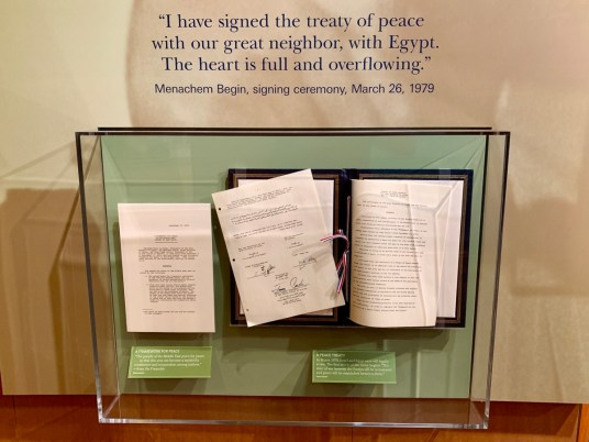 Jimmy Carter Camp David Accords - A Visit to the Jimmy Carter Presidential Library and Museum